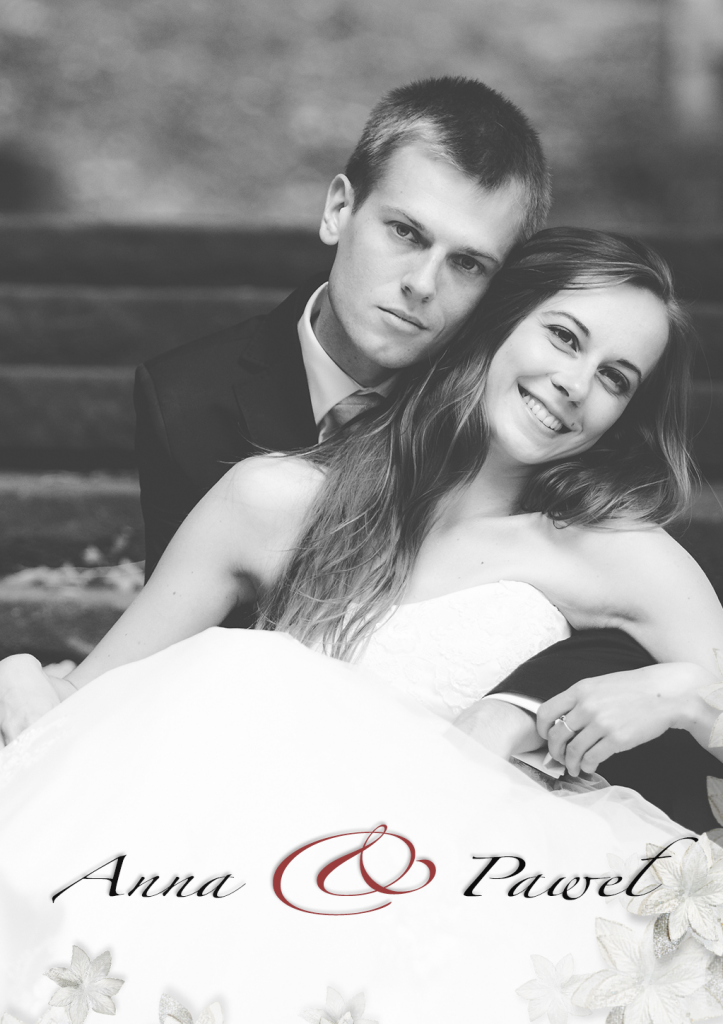 AniaDVD okładka ślubna